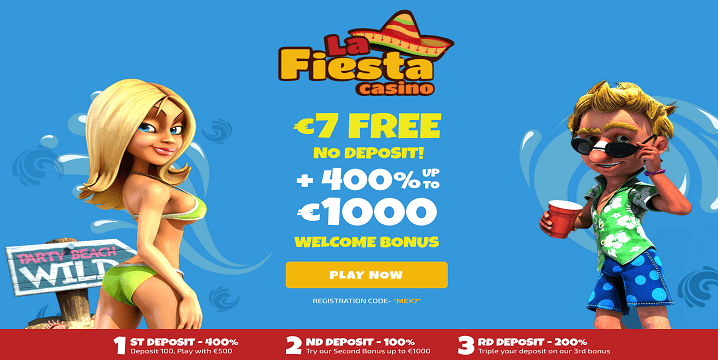 La Fiesta Casino promotion