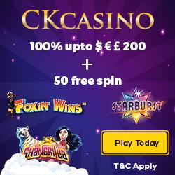 CK Casino Bonus And Review