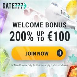 Gate777 Casino Bonus And Review