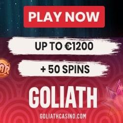 Goliath Casino Bonus And Review