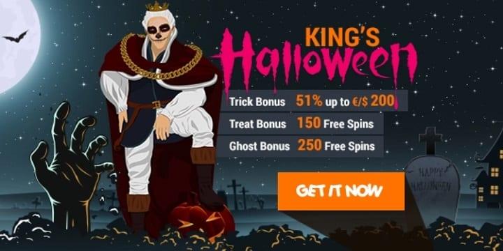 King Billy Casino: King's Halloween