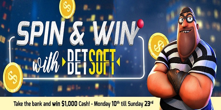 CyberSpins: Spin & Win with BetSoft