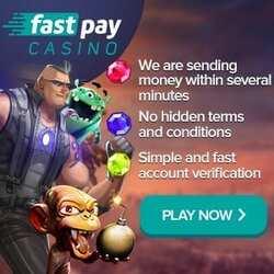 FastPay Casino Bonus And Review
