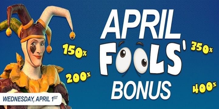 Vegas Crest: April Fools' Bonus