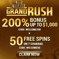 Grand Rush Casino Bonus And Review