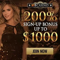 Myb Casino Bonus And Review